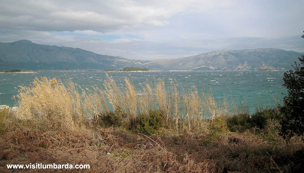 Sutvara Islet and Peljesac in the background