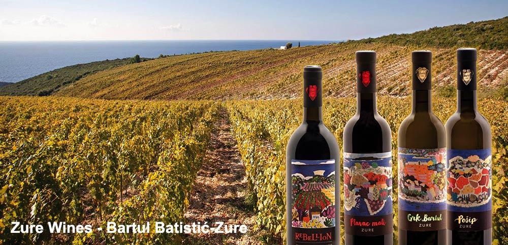 Zure Winery Vineyards, Lumbarda, Korcula island