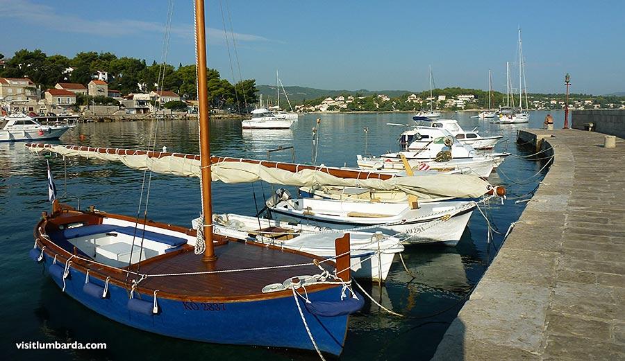 Lumbarda's lovely boats