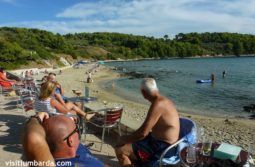Sunny afternoon in Lumbarda @ Vela Przina Beach